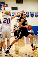 2-15-13 WCD3 Girls HS Basketball playoffs - Puyallup vs Union