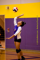 141014 All JV Bethel at Puyallup volleyball
