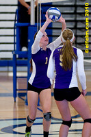 Puyallup volleyball at Curtis Sep 30, 10